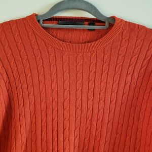 Cullen Cable Knit Crewneck Sweater